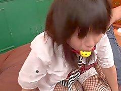 Kotomi Asakura in Schoolgirl