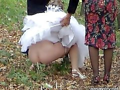 wedding outdoor piss 3