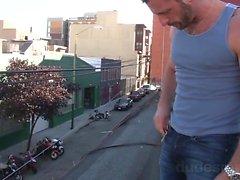 Morgan Черные роговой , как трахаются и круиза по улице от