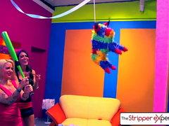 A experiência do Stripper - Jessica Jaymes & Helly Hellfire