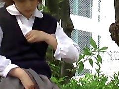 Japanische pissen teen
