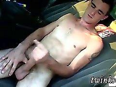 Junger Junge Homosexuell Sex Home-Film Pissen in der Wildnis mit Herzog