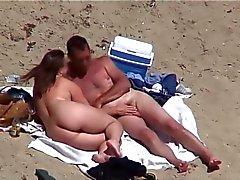 AmateursSex na praia