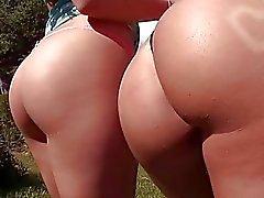Rebeca Linares and Gracie Glam Assparade