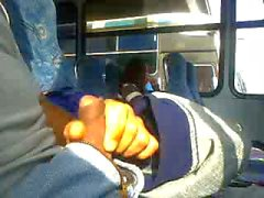 Flasher in de bus