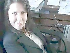 Slikken in het kantoor