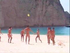 Vintage straight guys férias nu no paraíso - (© © ©) -