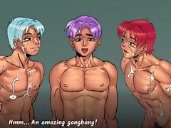 Gay Harem часть 04