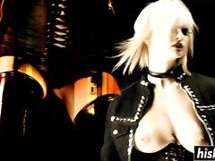 Terra White y Black Angelika folladas