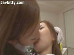 Dentista Lésbicas asiáticas - Japão