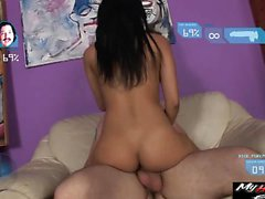 Abella Anderson allows her boyfriend to ram his rod into...