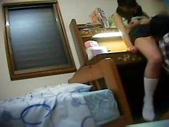 Cam caché sur amateur ado asiatique massage fille doigté