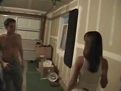 Mariah baisée dans le garage