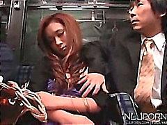 Ne pas de sommeil sur ce bus - Japanese vidéo érotique