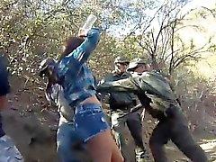 Manuel Ferrara polizia Kayla Occidente stava afferrò patrool lussurioso de