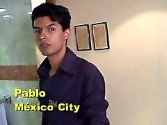 Chico spanisch - Americano Masturbandose