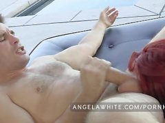 Big Tit Australian Angela White Só sexo anal
