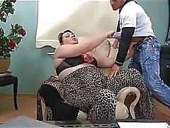 Sexcrazy man vingeren volwassen babe