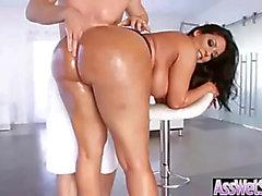 temible (mia kiara) amenaza de belleza Recibir engrasó En Su Gran Butt y anal clavado clip-dieciocho