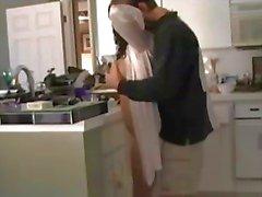 Sex At Kitchen