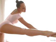 Danseur Flexible Ange Bleu Traîne Cum