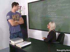 Emma se Starr es profesor caliente y cachonda