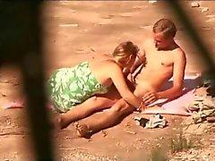 Ação Amador incrível Public Beach: observar a vida selvagem