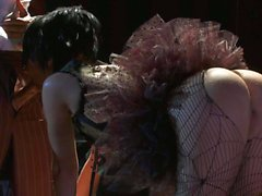Bare ass ballerina Kaylani Lei get shagged