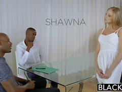 Annerita assistente personale di Shawna Lenee ama gli uomini Bianco