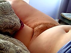 exposing the wifes dreaming hairy pussy early morning