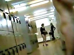 Espiar magníficos aficionados en vestidor