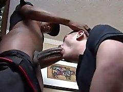 Izzi sucking big black dick