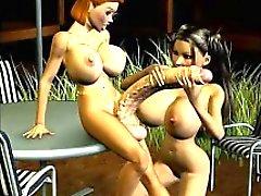3D Tgirls and Futanari Chicks!