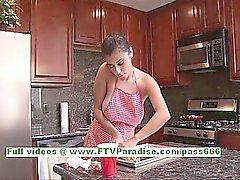 De Alexa de Loren brune forte poitrine femme de magnifique clignote Boobs et dans le cul