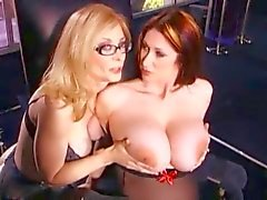 Nina Hartley Strapon sex med en Babe