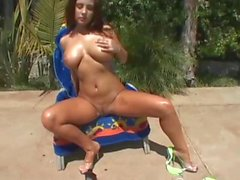 Erica Campbell , Verde bikini del TP . 2