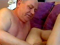 Grandpa seduzca Boy