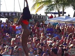 Dantes Pool Party at Fantasy Fest 2015 Key West Florida