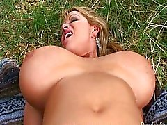 Busty Wife Treats Hubby To A Picnic Fuck