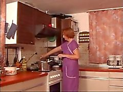 Kitchen Mogna Fingered Spanked & fuked xLx