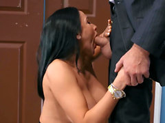 Big Tits at Work - Audrey Bitoni Charles Dera