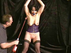 Mature slavegirls pussy needle torture and extreme