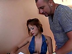 Petite blonde named Mare, humiliated by Stefano