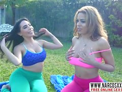 American Not-Mommy Lela Star And Luna Star In Threesome