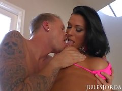 Jules Jordan - Rachel Starr анальный The Ultimate Ass Adventure