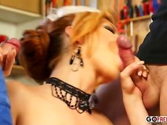 Orgasmatics Nessa Devil, Tarra White - Triple Teamed