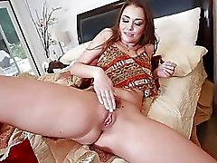 Allie Haze Got Tackled with a Big Dick