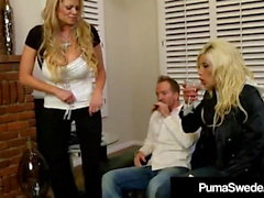 Ruotsalainen Star Puma Swede & Kelly Madison Blow Hubby!