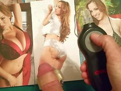 pov edging tribute to Jordan Carver