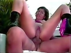 Nerdy Latina With Glasses Loves Assfucking